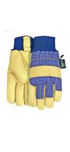 Midwest Premium Work Grade SzL Gloves Leather Gloves Pair 2 Gloves Leath... - $24.49