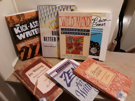 19 BOOKS!!! Writer's Book Bundle Books on The Art of Writing  12190001 - $22.00
