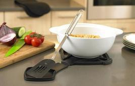Silicone Trivet Hot Pad with Built in Spoon Rest - $14.99