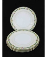 "Noritake China Althea Salad Plates (4) 7-1/2"" C... - $16.00"