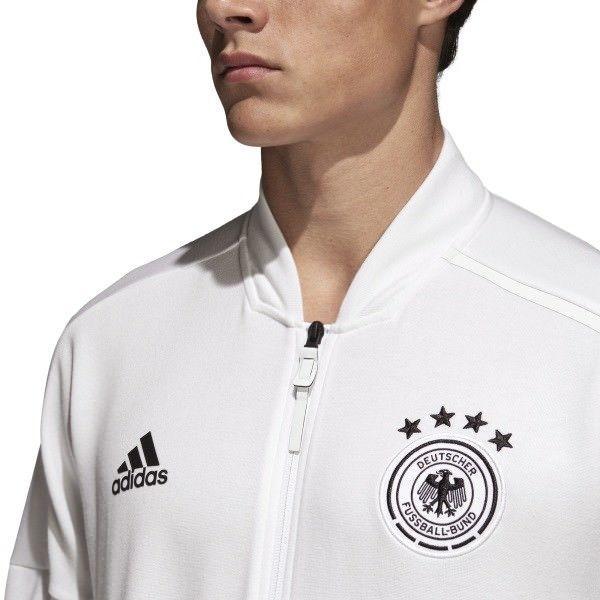 ADIDAS GERMANY Z.N.E. ZNE KNIT JACKET FIFA WORLD CUP 2018 White/Black.