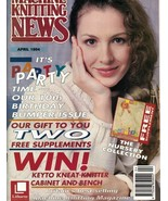 Machine Knitting News Apr 1994 Includes the Nursery Collection & More - $10.99