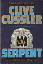 Serpent Numa Files Series Book 1 by Clive Cussler 0671026704 - $4.00
