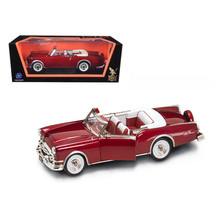 1953 Packard Caribbean Red 1/18 Diecast Model Car by Road Signature 92798r - $52.40