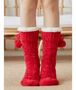Women Home Carpet Sock Fur Warm Plush Bedroom Comfy Floor Sock - £14.50 GBP