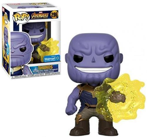 Funko POP! Marvel Avengers: Infinity War #296 Thanos Walmart Exclusive -...