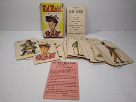 Vintage Whitman Old Maid Card Game Complete Set 3009 In Original Box - $13.33
