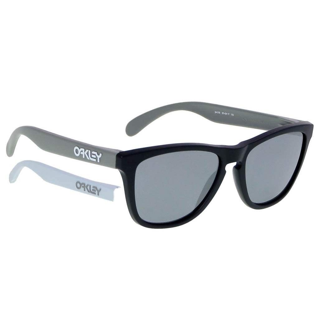 New Oakley FROGSKINS Infinite Hero GT75 Matte Black w/Balck Iridium 24-335