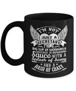 Secretary Mug Secretary Coffee Mug Funny Beer Best Legal Day School Trav... - $16.95