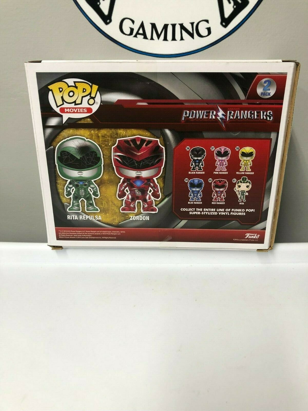Funko POP! Rita Repulsa Zordon 2 Pack Power Rangers Toys R Us Exclusive New