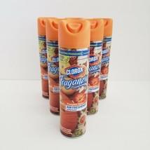 6 Clorox Fraganzia Pumpkin Spice Air Freshener Spray Limited Edition 8 o... - $23.95