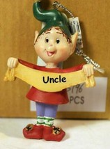 CHRISTMAS ORNAMENTS WHOLESALE- RUSS BERRIE- #13796- 'UNCLE'-  (6) - NEW ... - $5.83