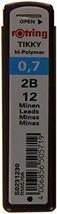 rOtring Tikky Mechanical Pencil Lead 0.7mm, 2B, 12 Lead (R505 706 2B) - $9.59