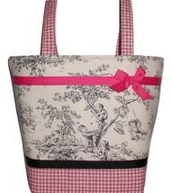 Black Central Park Diaper Bag, Pink And Black Diaper Bag, Toddler Girls ... - $59.99