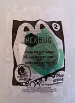McDonalds 2013 Hexbug Green Speed Beetle No 2 Action One Childs Happy Meal Toy - $3.99