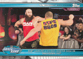 Raw 2019 Topps WWE Road To Wrestlemania Card #68 - $0.99