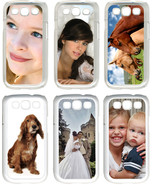 Personalized Photo Samsung Galaxy S3 Custom Picture Silicone  Rubber Cas... - $7.95