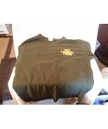 Men's Trek Bicycle Trek Financial Frogs Dark Green T-shirt Medium - $14.85