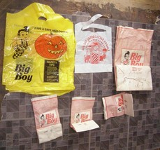 Big Boy Bag &  Plastic Bib Lot 1990s - $19.99