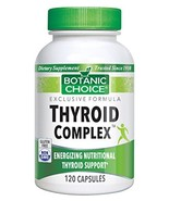 Thyroid Complex, Energizing Nutritional Thyroid Support, 120 Capsules - $14.67