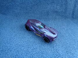 Hot Wheels 2009 Mattel Urban Agent Purple Car Made in Malaysia - $1.56