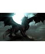 Haunted Ring Draconian Magick Power Dragon Life Death Dark Light Eternal... - $160.00