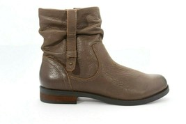 Women's Abeo Yasmin Taupe Leather Booties Women's Size US 8.5 Neutral ()5118 - $95.00