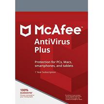 Mcafee Antivirus Plus 2021 - 1 Year 1 PC- Product Key - $11.99