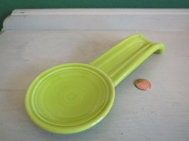 Fiesta USA Lime Green Spoon Rest - $10.40
