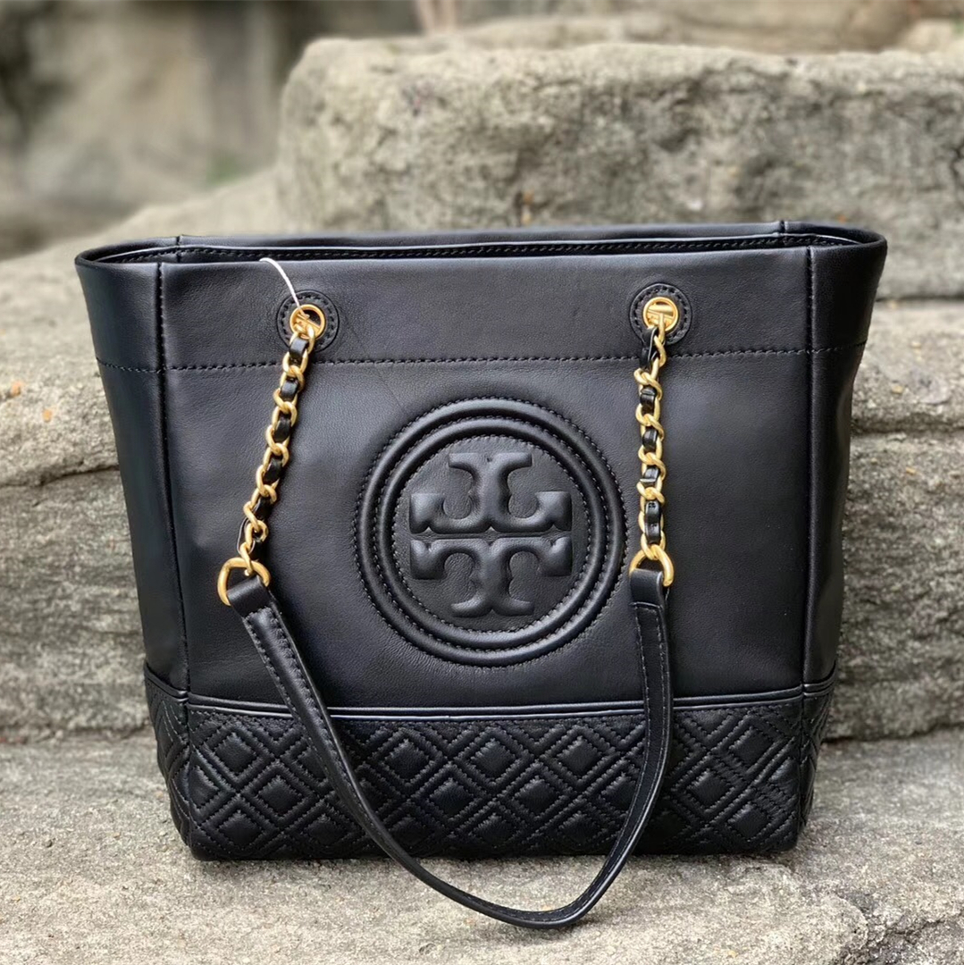7969dfdbfac Tory Burch Fleming Leather Tote and 50 similar items. Img 7661