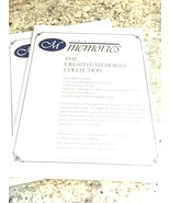 "CREATIVE MEMORIES New RETIRED 8 1/2""X10"" PAGE PROTECTORS 15 SHEET 8.5x10... - $27.67"