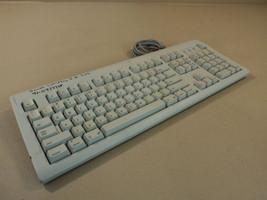 Apple Deluxe Computer Keyboard Macintosh PS2 Gray PS/2 Apple Design M2980 - $27.31