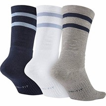 Nike SB Dri-Fit Crew 3 PACK Socks SIZE M NEW image 2