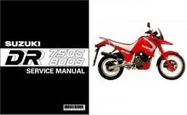 1988-1997 Suzuki DR 750 S / DR 800 S ( DR Big ) Service Manual CD  - DR750 DR800 - $12.99