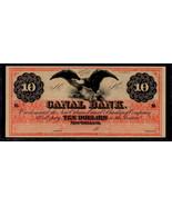 "OBSOLETE $10 1860's ""SPREAD EAGLE"" Perfect Uncirculated Condition - $199.00"