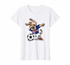 Dog Fashion - Dog Dabbing Soccer Iceland Jersey Shirt Icelandic Football... - $19.95+