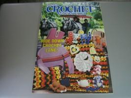 Annie's Crochet Newsletter - Ride Down Crochet Lane! - October 1985 - $7.91