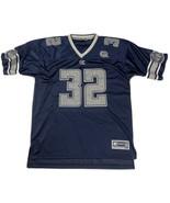 VTG Colosseum Georgetown Hoyas #32 Football Jersey Mens Large Blue NCAA ... - $49.49