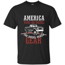 Christan  Vintage Car  American Run On Diesel T-Shirt Christian Religiou... - $19.95+
