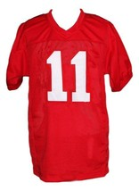 Junior Floyd #11 Little Giants Movie New Men Football Jersey Red Any Size image 4