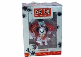 Walt Disney Christmas Ornament 101  Enesco NIB Barkin Biscuits Pongo Fig... - $19.25