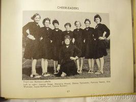 1954 Union Endicott High School Yearbook - Thesaurus image 7