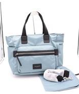 NWT Marc Jacobs Biker Baby Blue Nylon Diaper Bag Tote New $295 - $175.00