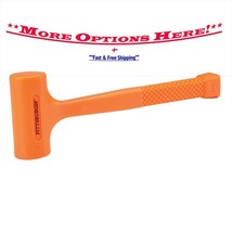 Choose from Pittsburgh Various Size Neon Orange Dead Blow Hammer Hammers - $22.34+