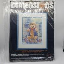 """1987 Jennifer's Friend by DIMENSIONS No Count Cross Stitch Kit -  9"""" x 12"""" - $11.86"""