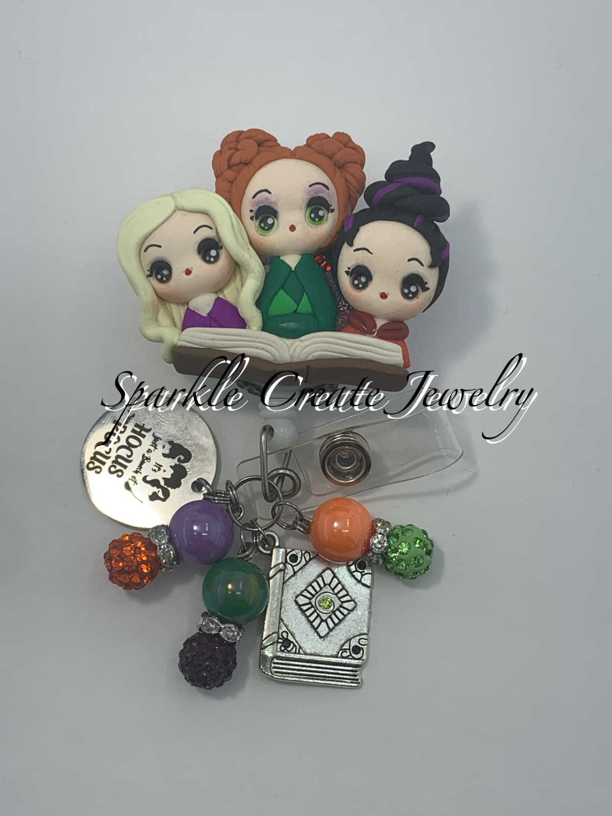 LIMITED EDITION: Hocus Pocus Clay Badge Reel