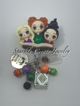 LIMITED EDITION: Hocus Pocus Clay Badge Reel  image 1