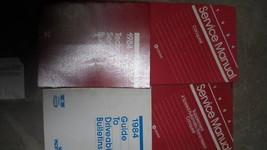 1984 CHRYSLER CONQUEST Service Repair Shop Manual Set W TECH BULLETINS +... - $16.00