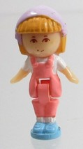 1990 Vintage Polly Pocket Doll Midge in her Necklace (Variation) - Midge - $8.00