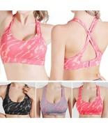 Women Sports Bra Professional Fitness Gym Running Sport Yoga Brassiere Tops - $15.27